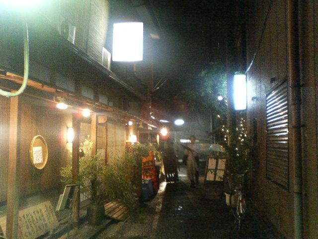 夜の京都室町あたり、さらに