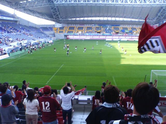 神戸対湘南戦