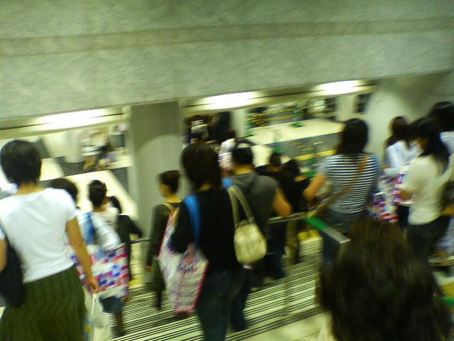大阪ドーム前は、大混雑