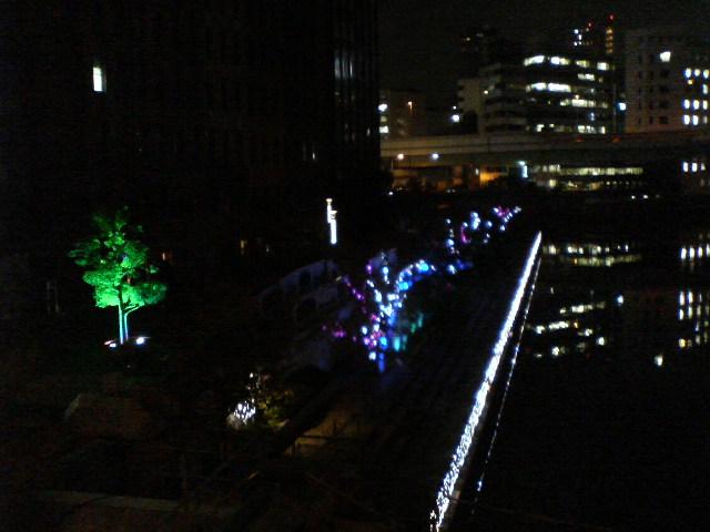 大阪の水と光の景