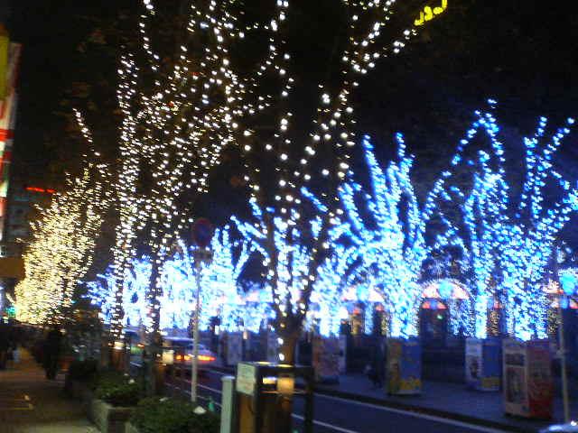 大阪の光の景