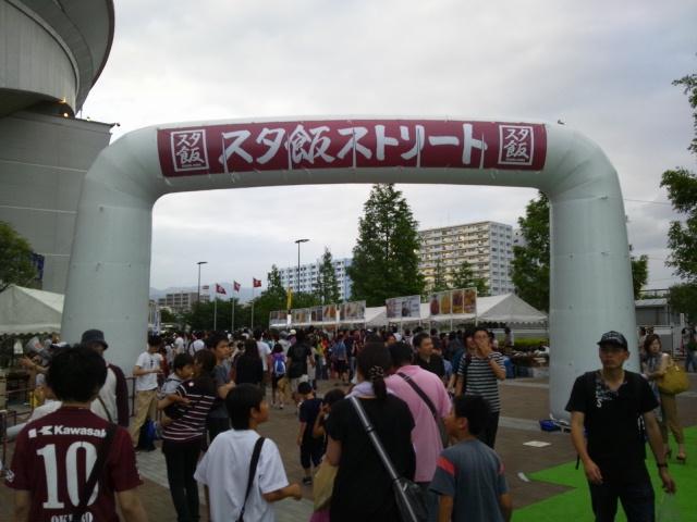 七夕の仙台戦