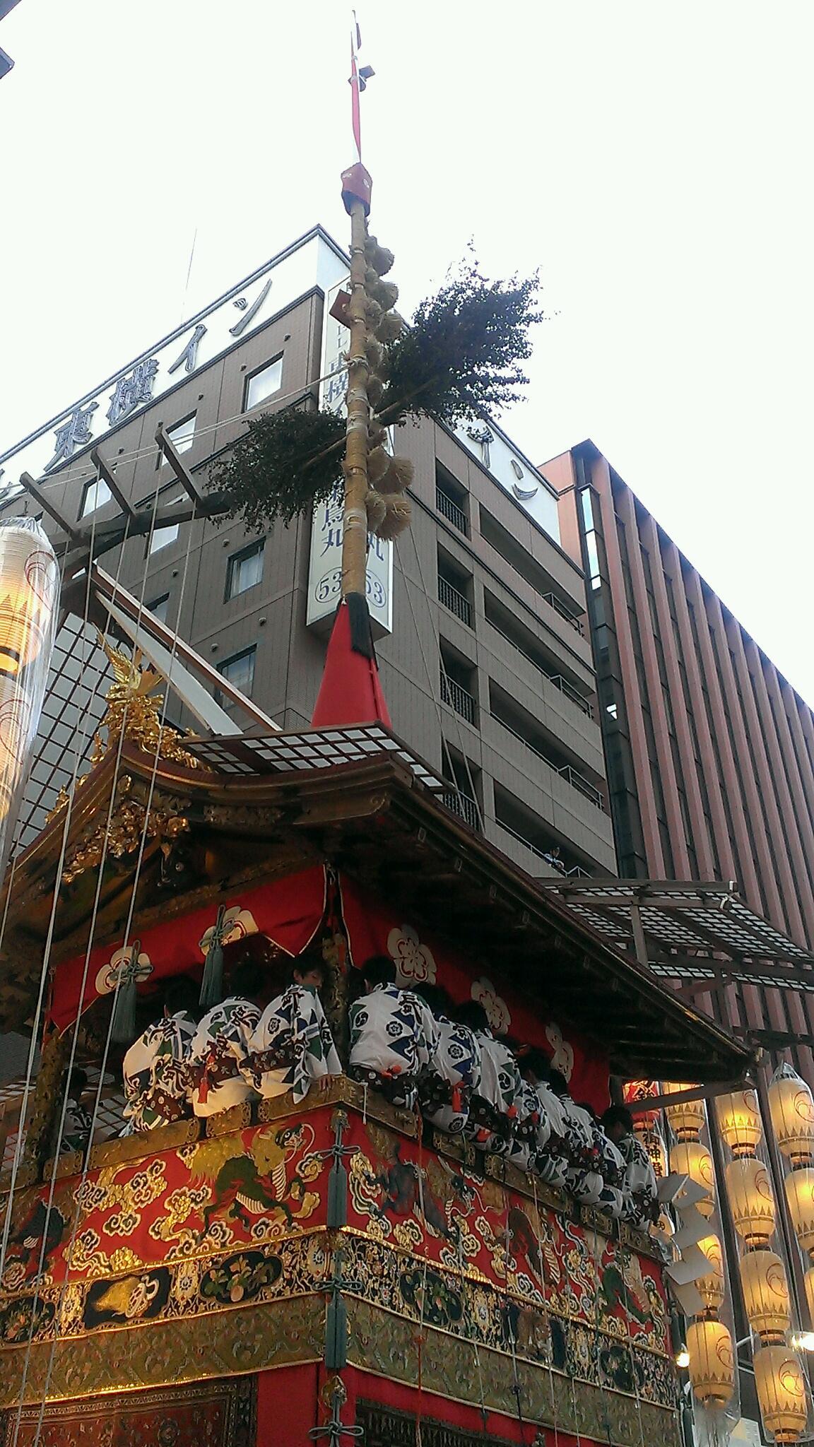 祇園祭 長刀鉾です!