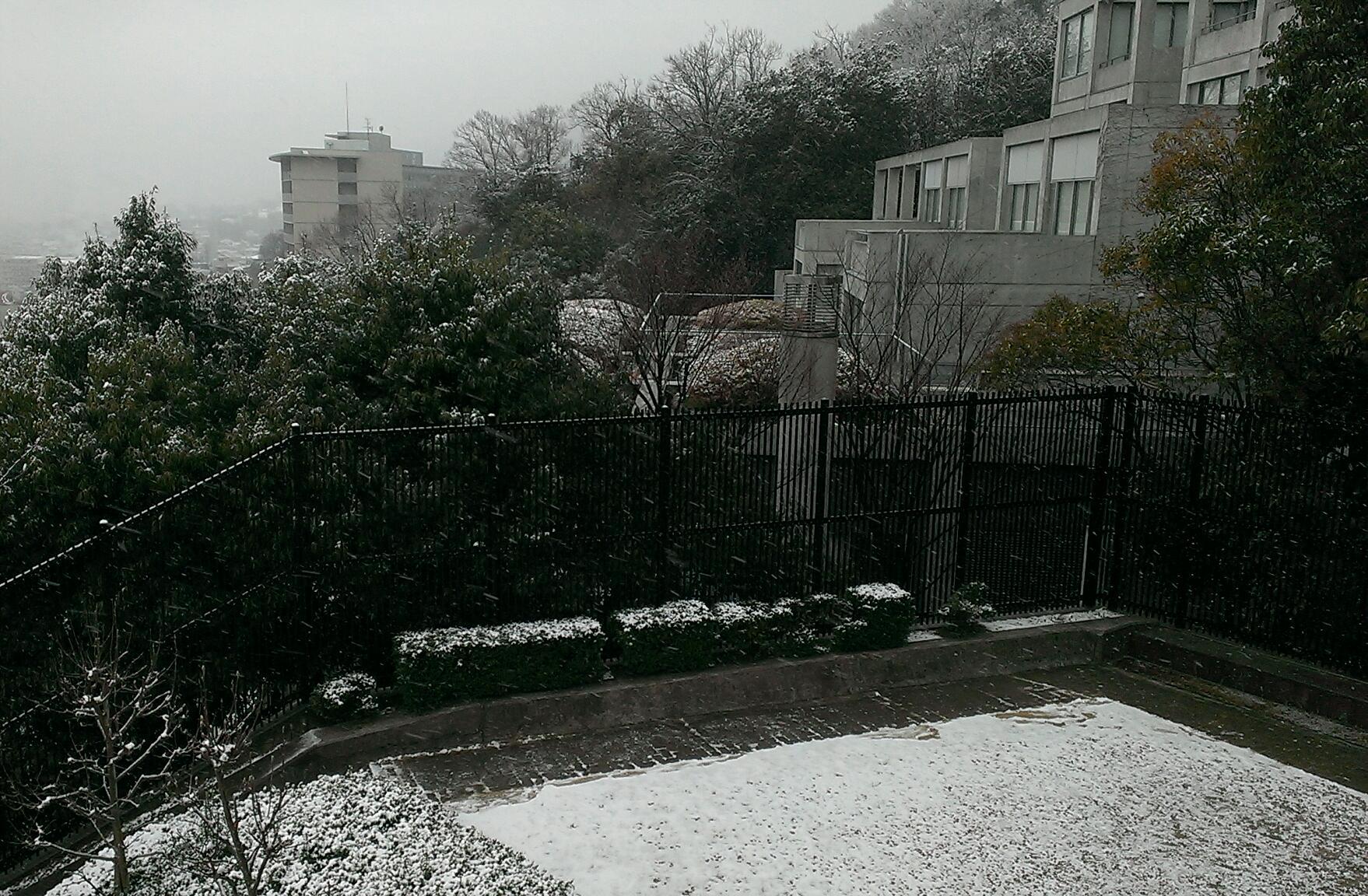 雪国かな?