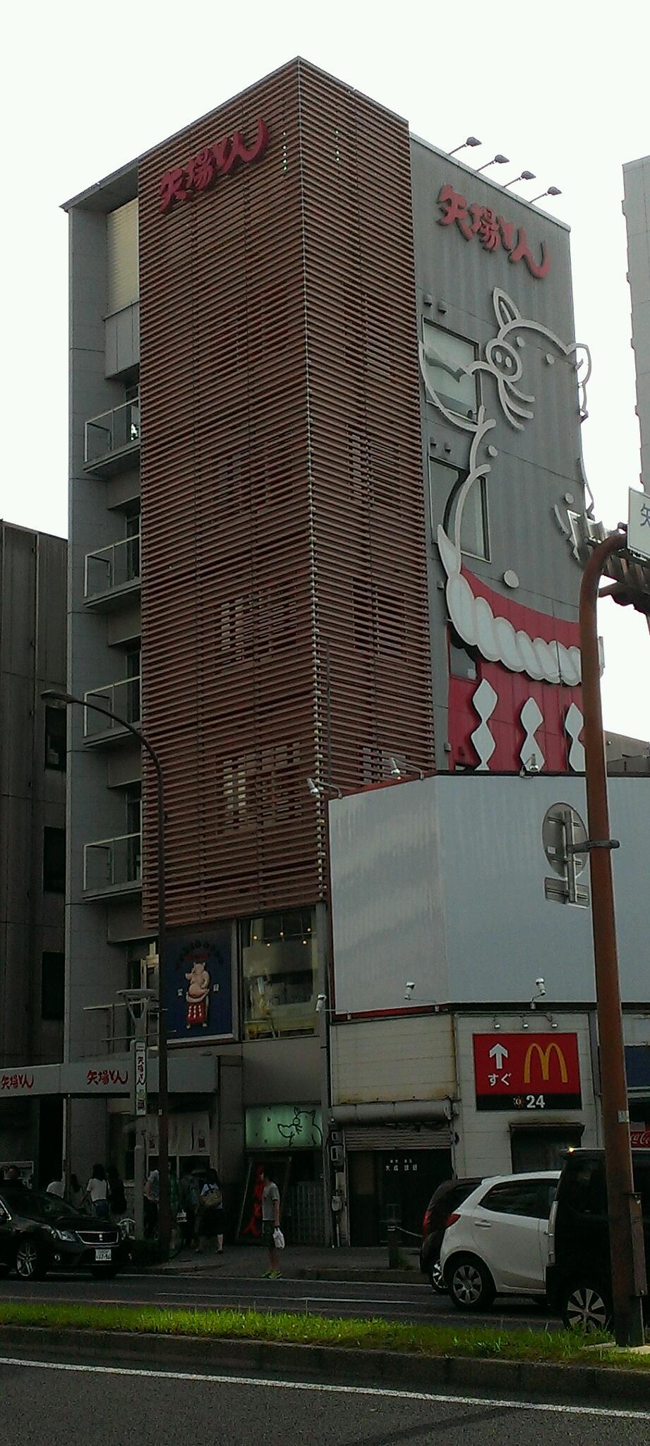 なぜか名古屋