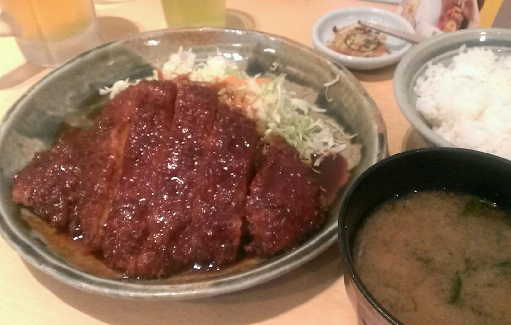 味噌かつ!( *・ω・)ノ